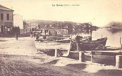Photo ancienne du Brusc et ses Pointus
