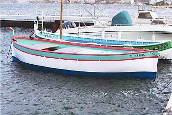 Le Cigalou, Pointu construit en 1982