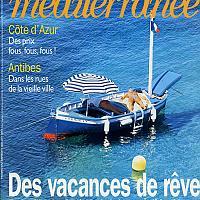 Cormoran, Pointu du Brusc en Une du Figaro méditerranée
